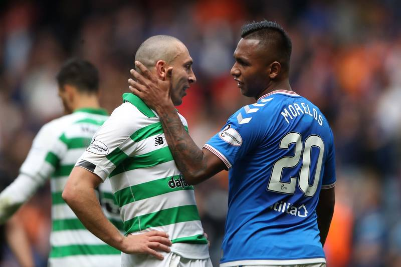 Celtic vs Rangers In Pictures - Daily Record